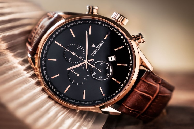 vincero rose gold chrono s watch