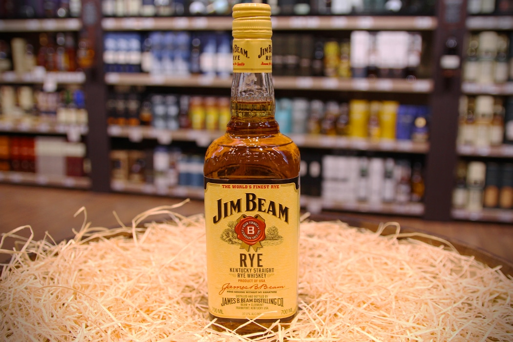 jim beam kentucky straight rye whiskey