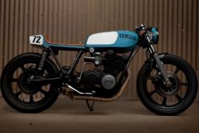 1977 yamaha xs750 cafe racer motorcycle released