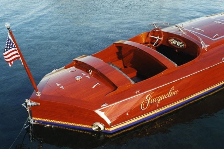 jacqueline wooden boat back side
