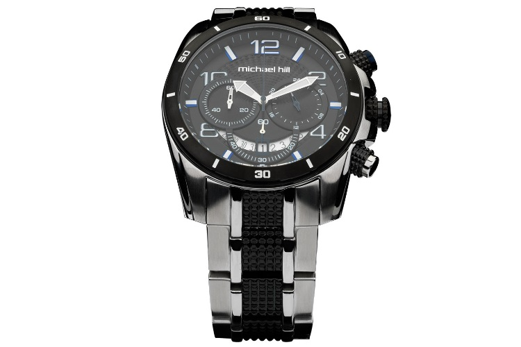 michael hill men's stainless steel