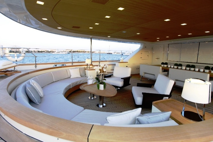 perseus 3 wooden boat conference room