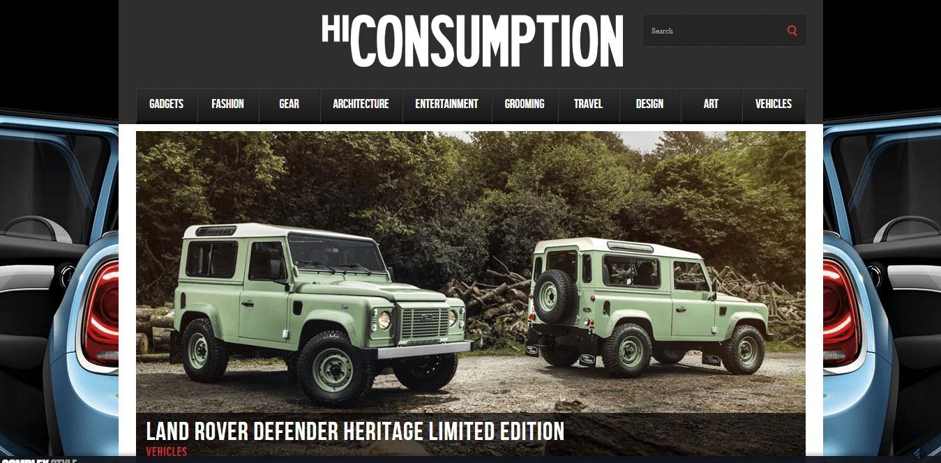 hiconsumption digital lifestyle magazine for guy
