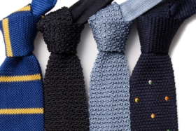 thing of beauty knitted tie