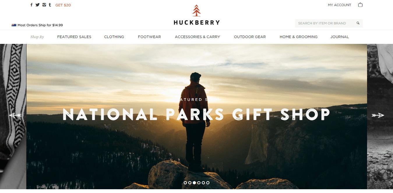 welcome to huckberry huckberry