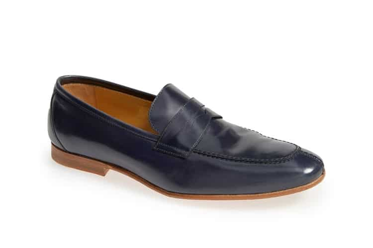 acacia penny men leather shoe