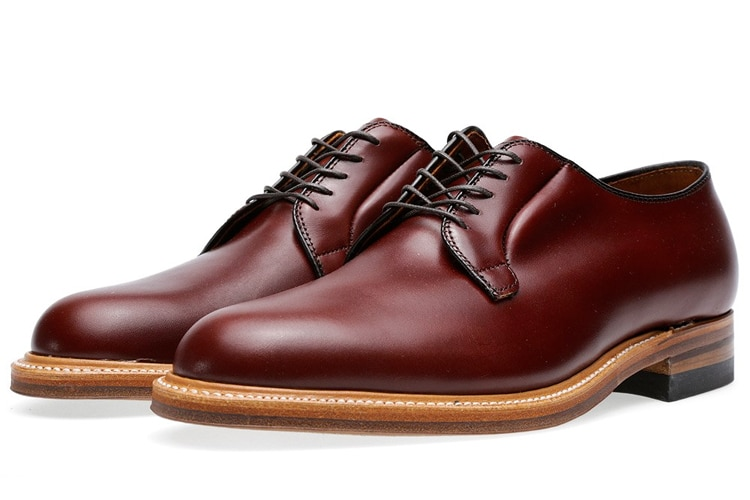 blucher men leather shoe