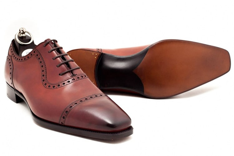 gaziano and girling st james men leather shoe