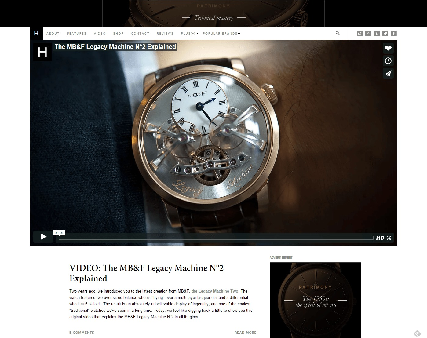HODINKEE Wristwatch News Reviews Original Stories