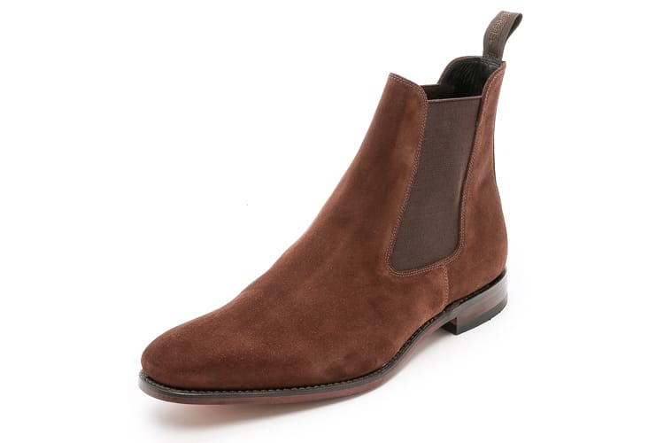 chelsea men leather boot