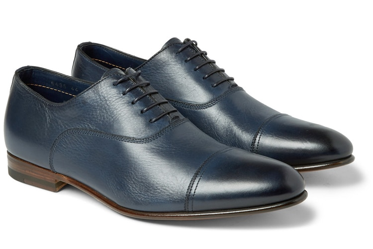 oxford men leather shoe