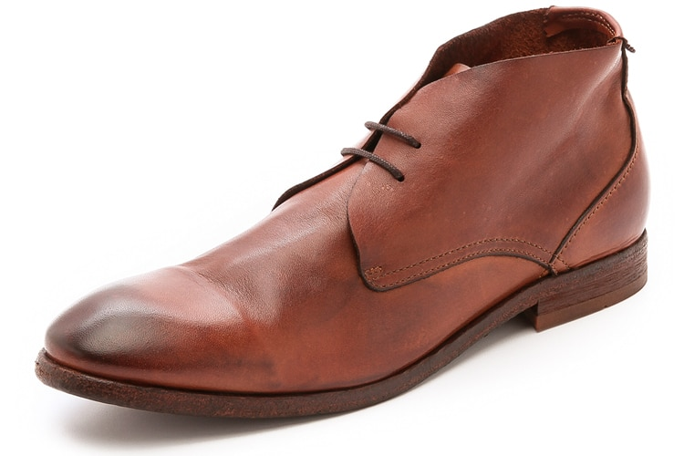 slouchy h by hudson chukka men leather shoe