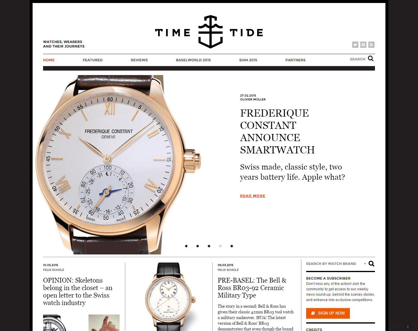 Time Tide Watch Magazine The Australian Watch Authority