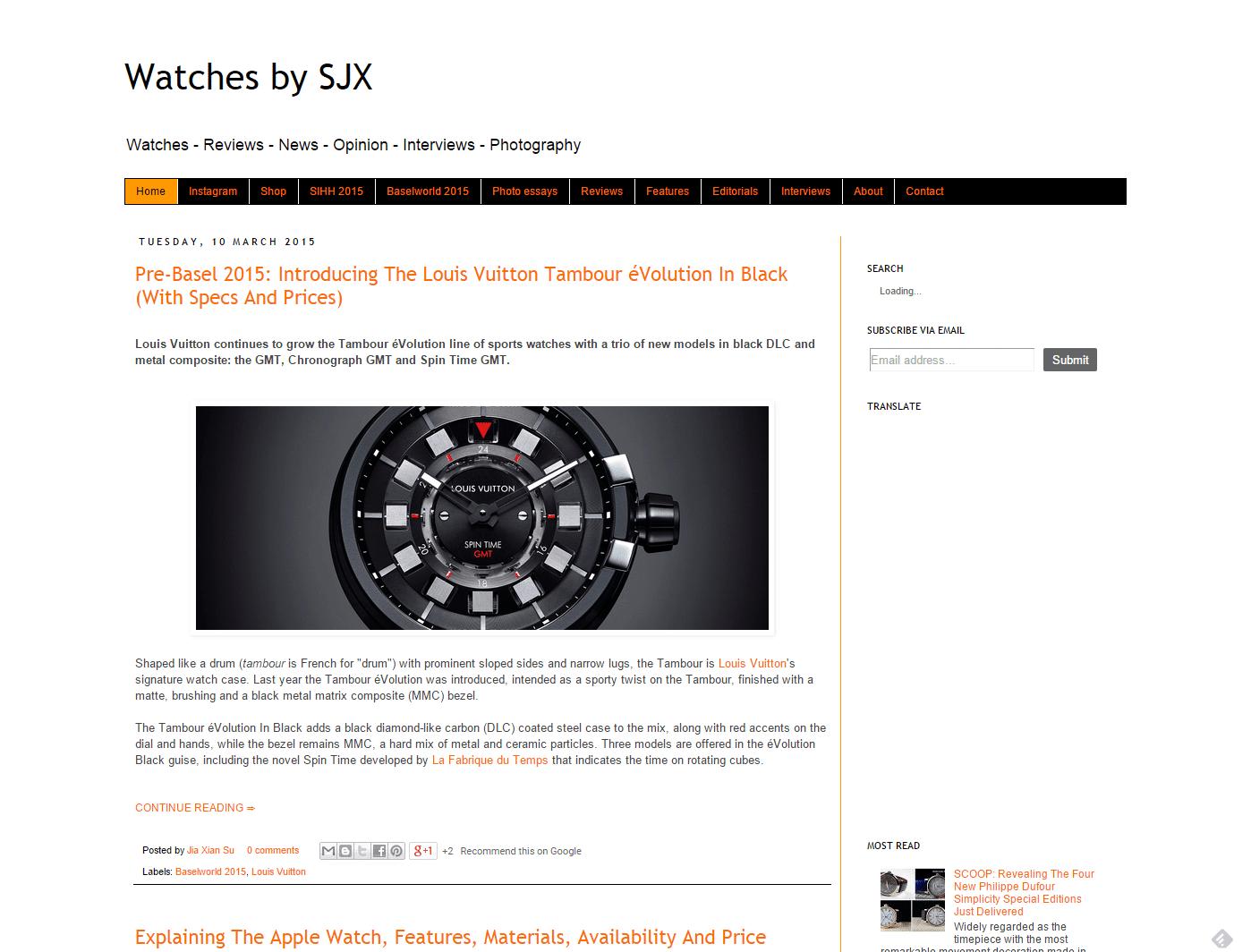 Watches by SJX