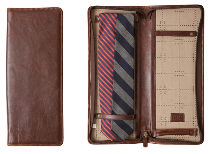 tie travel case