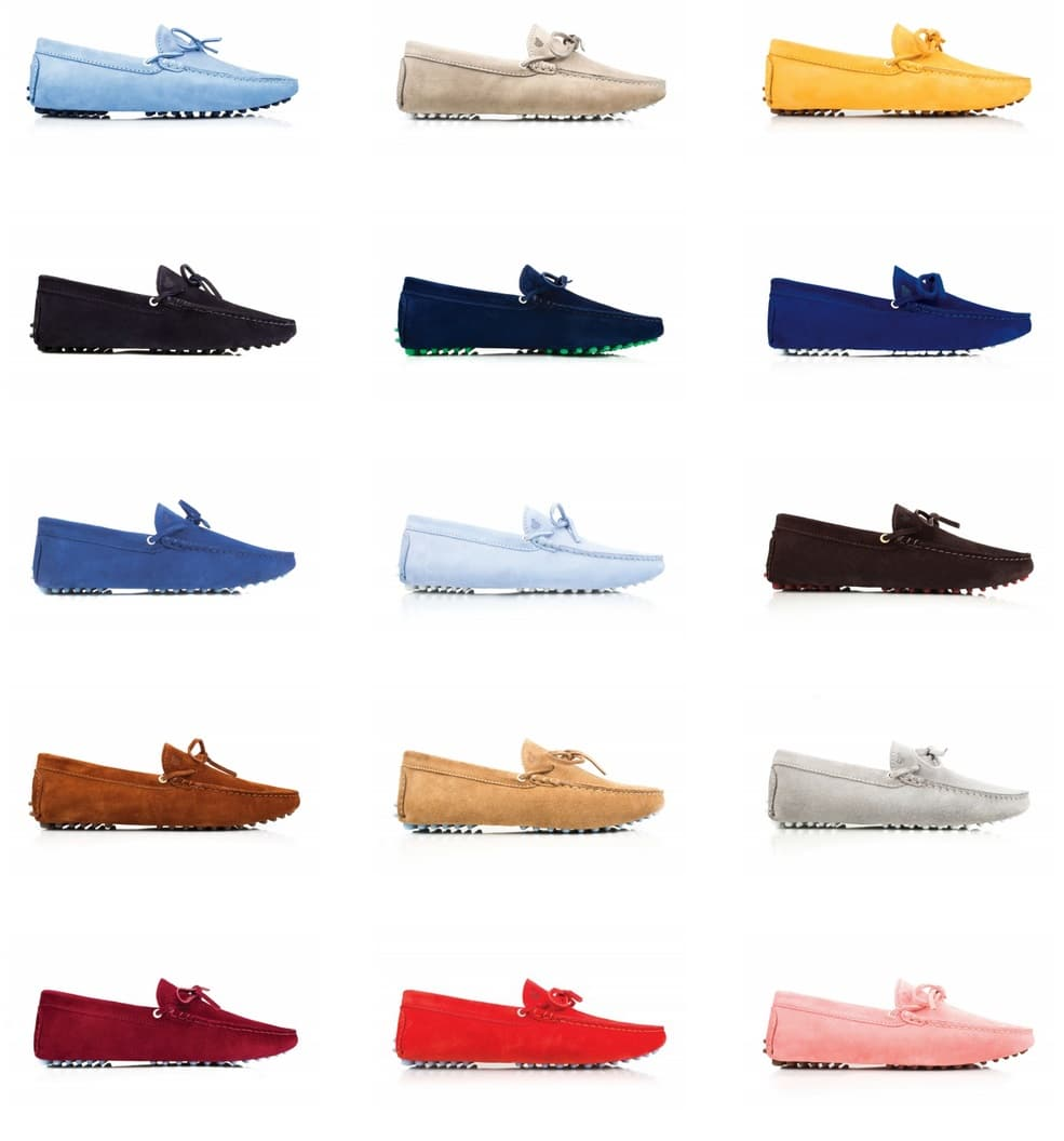 bobbies paris collection loafers deep and light color
