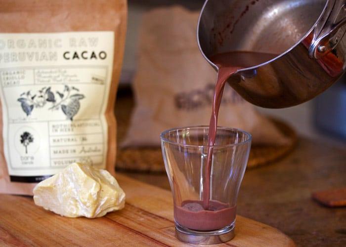 cacao fresh skim milk