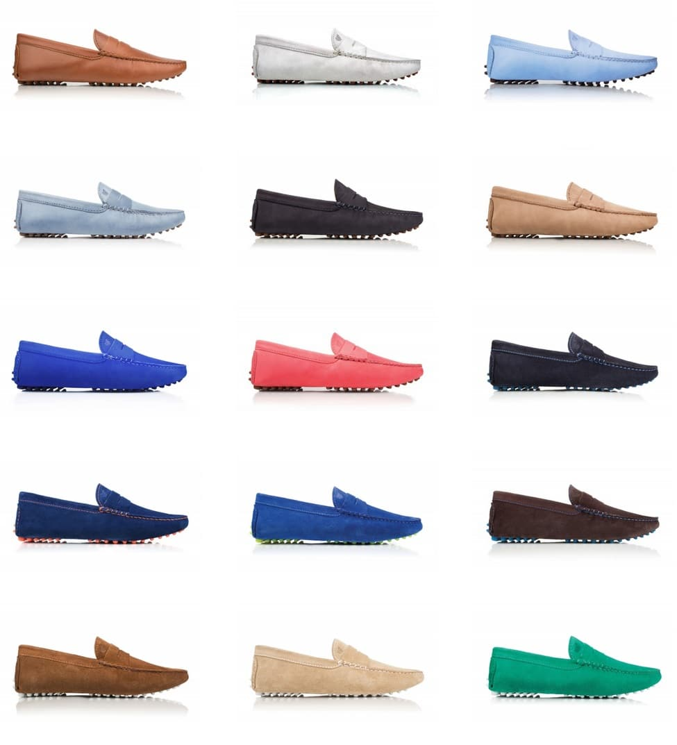 bobbies paris collection loafers colorful