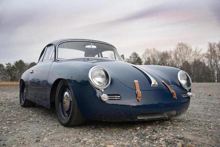 1965 porsche 356c front side