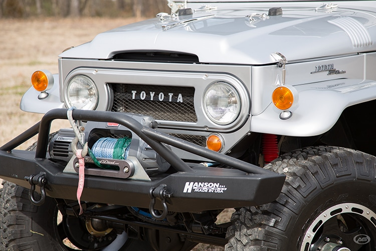front side carrying tools toyota 1966