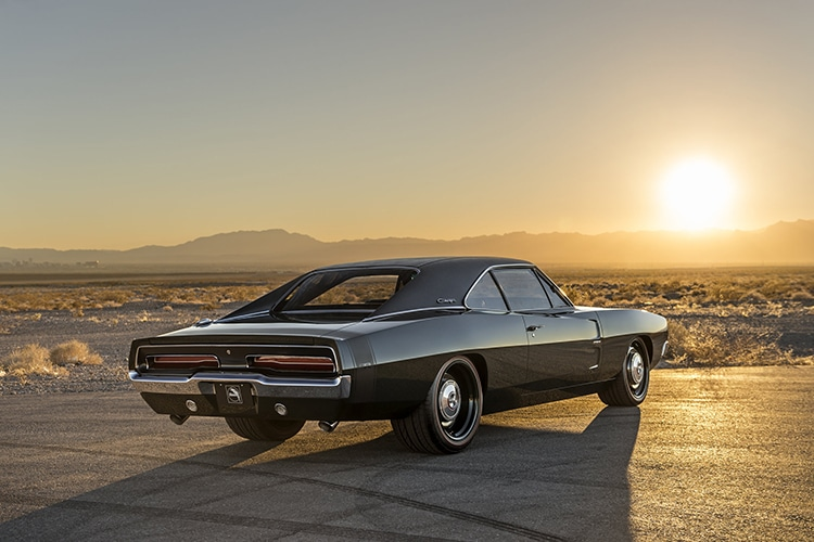 1973 dodge charger defector overall view
