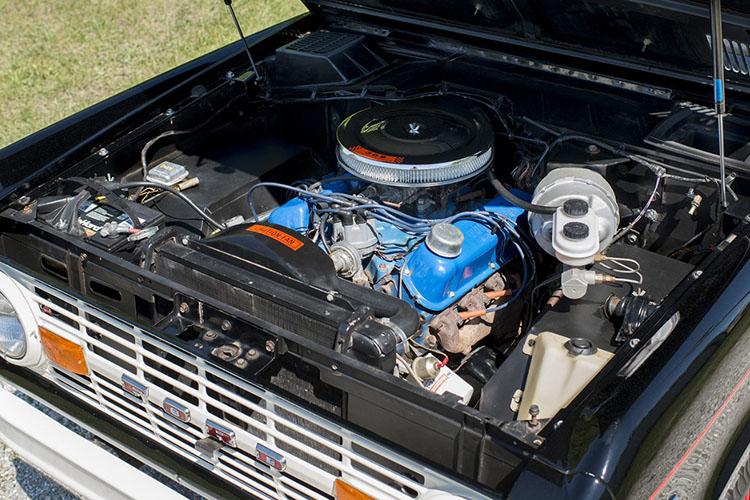 ford bronco u14 engine