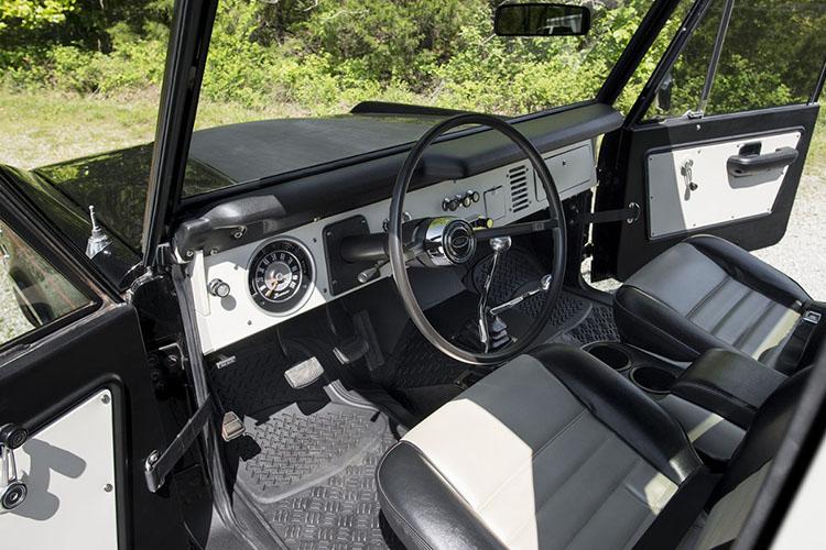 ford bronco u14 steering