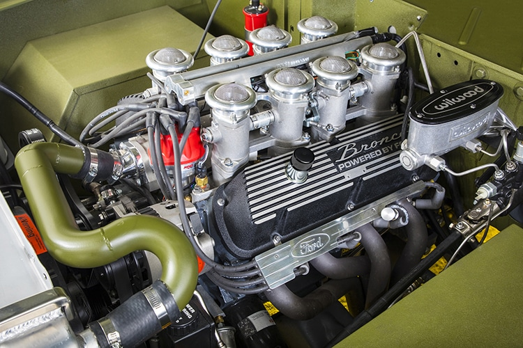 rmd garage ford bronco engine