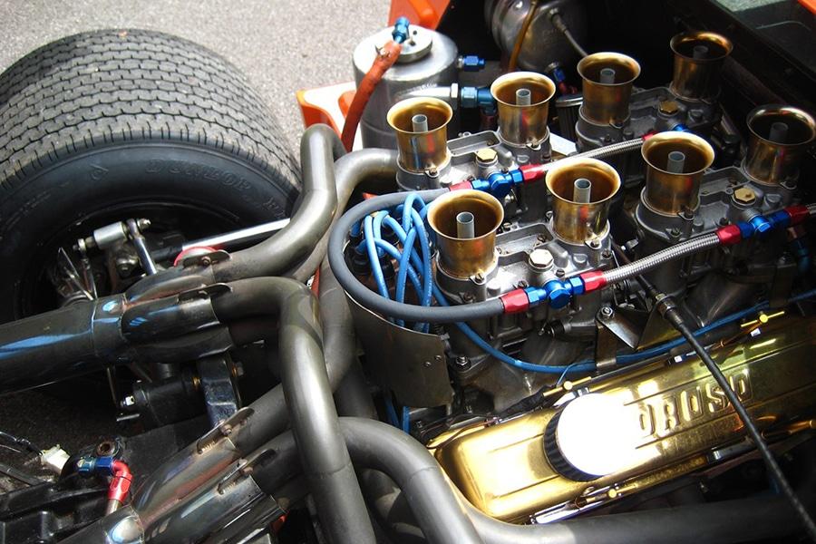 engine mclaren car