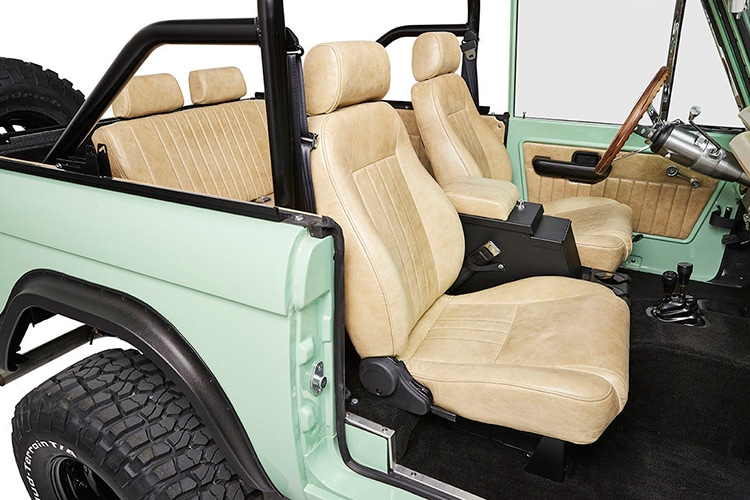 upholstery view ford bronco