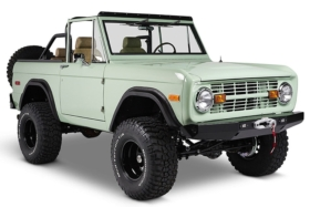 front view classic ford bronco