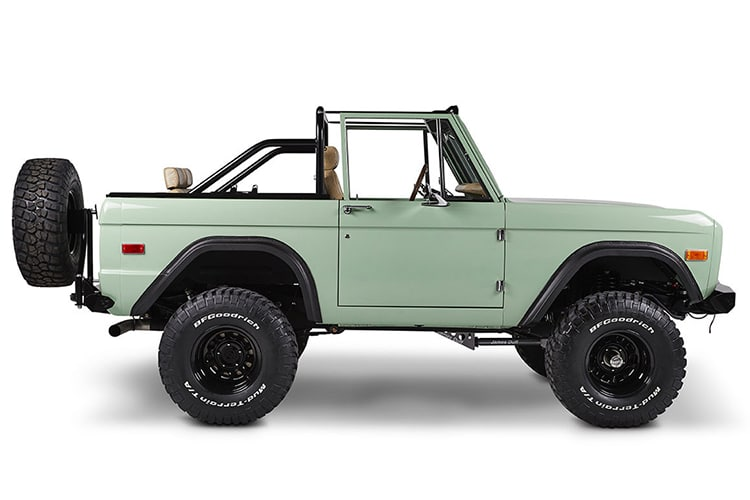 classic ford bronco full view