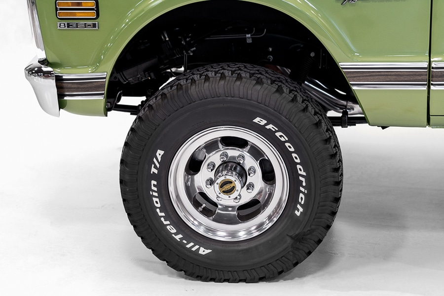 wheel view blazer chevrolet