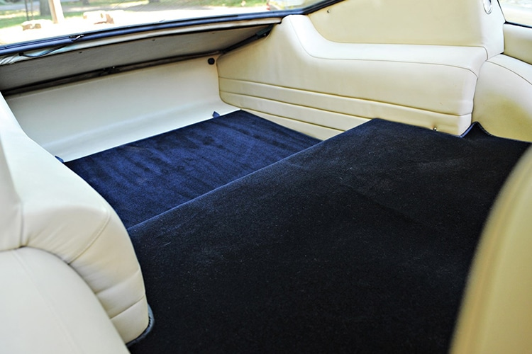 maserati upholstery view