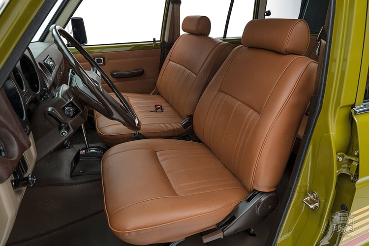 upholstery view 1986 toyota land cruiser