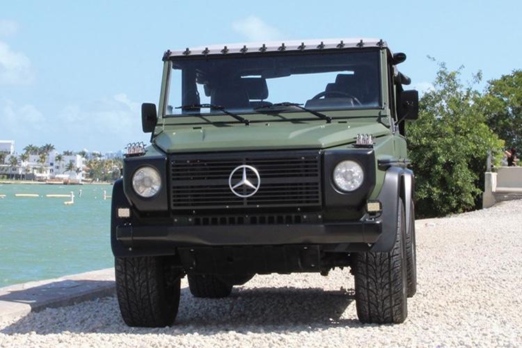 front side 1992 mercedes benz 250 gd