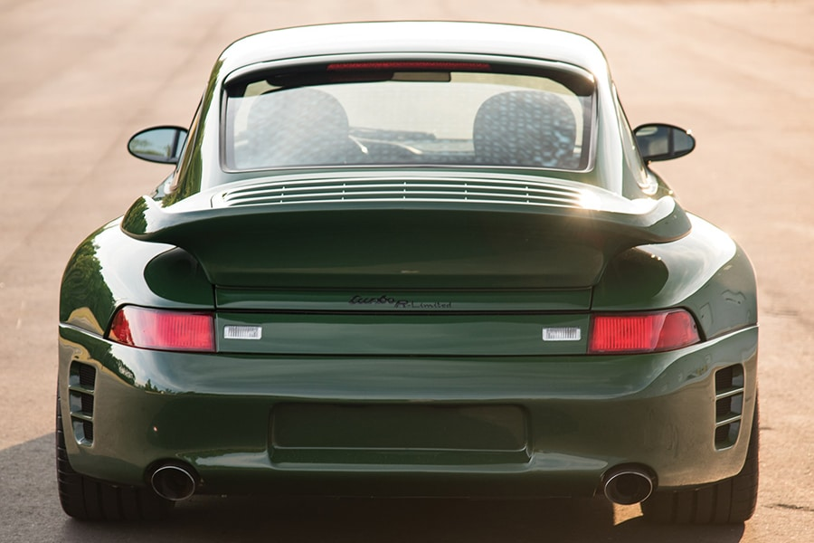 back view ruf vehicle