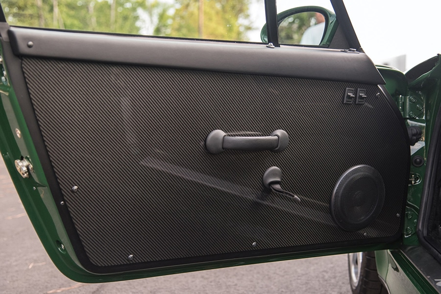 door view ruf turbo car