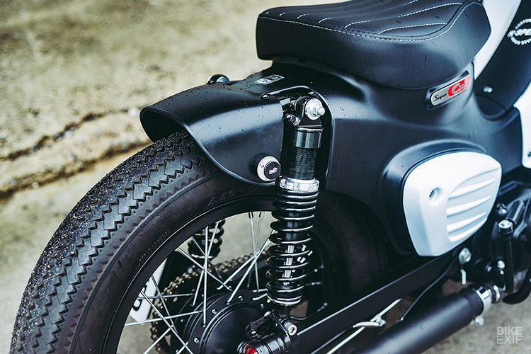 custom 2018 honda super power cub motorcycle wheel
