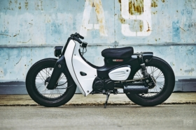 new custom 2018 honda super power cub motorcycle
