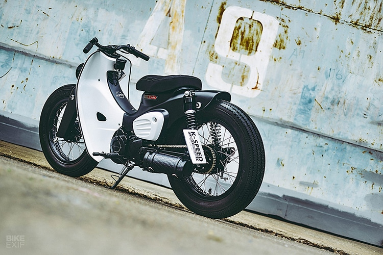 custom 2018 honda super power cub motorcycle design