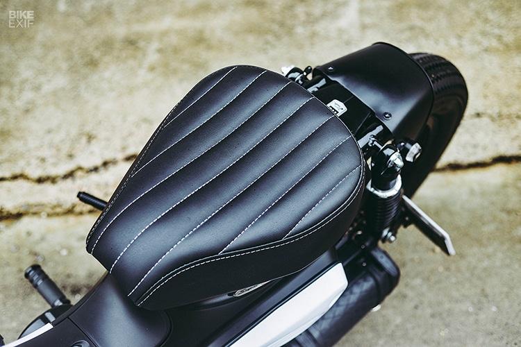 custom 2018 honda super power cub motorcycle seat