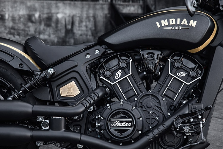 2018 indian scout bobber jack daniel motorcycle engine