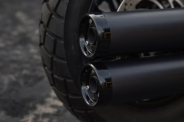 2018 indian scout bobber jack daniel motorcycle exhaust