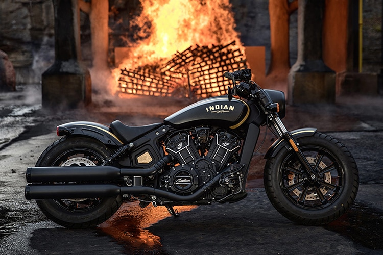 2018 indian scout bobber jack daniel motorcycle feature