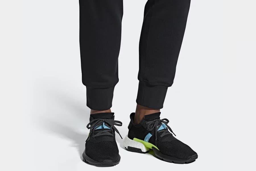 slip on the adidas pod