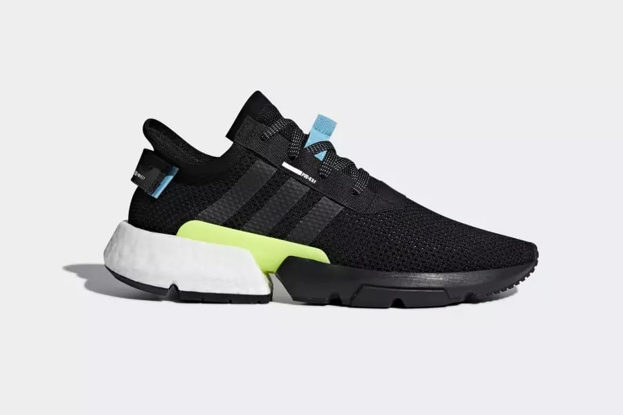 side view adidas shoes