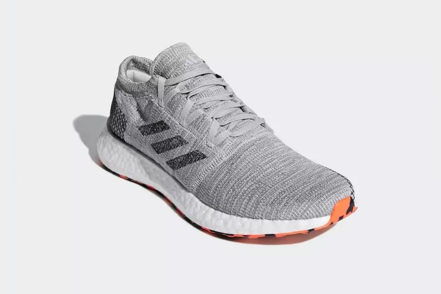 front view running shoes adidas