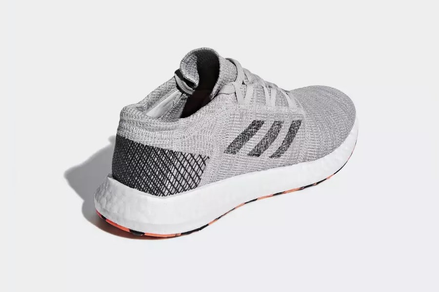 baack view running shoes adidas