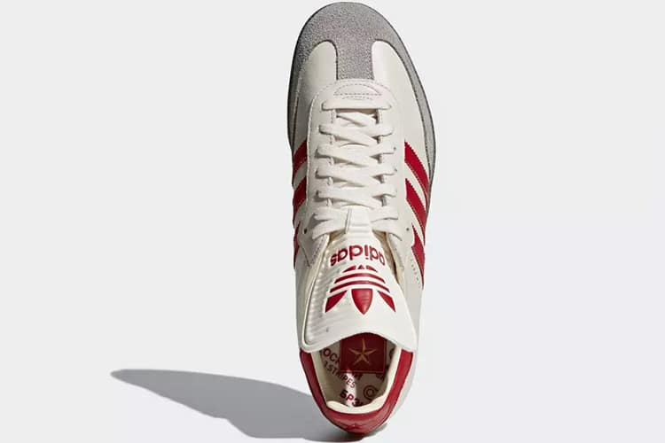 samba adidas top view